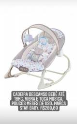 Cadeira descansa bebê Star baby