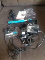 Camera gopro. Sjcam 5000 x elite semi nova .troco por note book