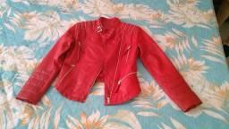 Jaqueta de couro de cordeiro original Black Bull