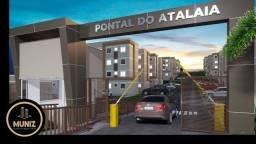 Título do anúncio: PM Residencial Pontal do Atalaia, Olinda, 2 Quartos com Lazer!