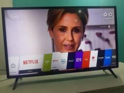 Smart LG 43 POLEGADAS Wi-Fi YouTube Netflix Globo Play Amazon Prime e outros aplicativos