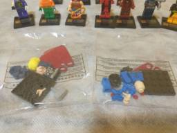 13 bonecos super heróis