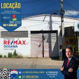 AR Alugo Galpão comercial com localização privilegiada BR 232 Serra Talhada PE