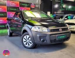 Título do anúncio: Fiat Strada Working Hard - 1.4 Flex Manual - Preto - 2018