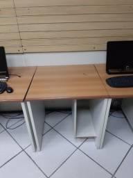 Mesa para PC 20 mesas Formica e Madeira Ricó Moveis