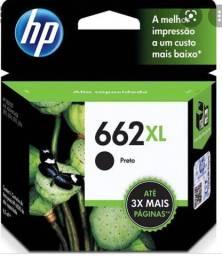 Cartucho HP 662XL R$ 85,00