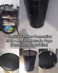 Armario Tambor Decorativo.. - Tatoo Forasteiro