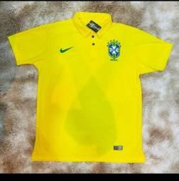 Camisa pólo Brasil