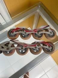 Título do anúncio: Jogo de rodas patins traxart