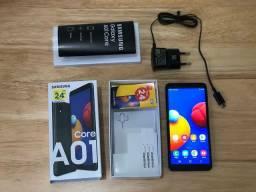 Samsung A01 Octacore 32 Giga HD Novo Lacrado Na Caixa Garantia