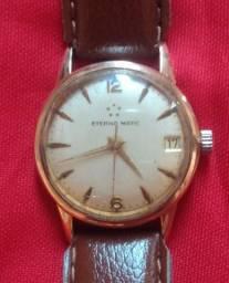 Relógio Eterna Matic Aro De Ouro Automatic Anos 60's