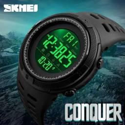 Relógio Esportivo Prova/D'água Skmei  Preto Promoção