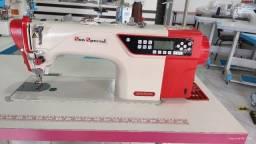 Máquina Reta Eletrônica Direct Drive Sun Special SS18E-D4-PR-QI