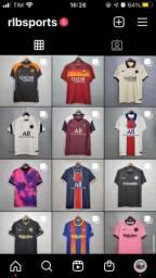 Camisas de Futebol e NBA