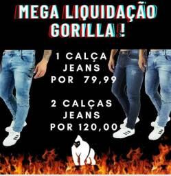 MEGA LIQUIDAÇÃO GORILLA