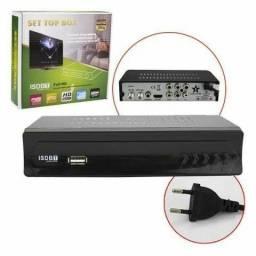CONVERSOR DE TV DIGITAL SET TOP BOX MULTIMIDIA COM GRAVADOR<br>
