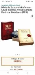 Bíblia de Estudo da Reforma em promoção nova lacrada