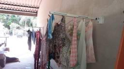 Varal para roupas retratil INSTALADO