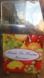 Carrinho para salada de frutas