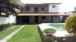 Casa 3 quartos, 2 suítes, 2 varandas, piscina,sauna,canil,churrasqueira - Inoã !