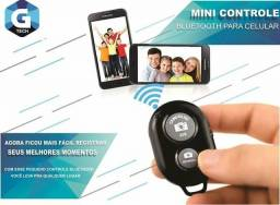 Controle Bluetooth Celular Selfie Android E Iphone