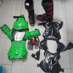 Kit motocross