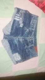 Shorts 6 peças
