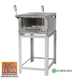 Forno Industrial a Gás Venâncio 80x45cm Inox FIRI80 - Novo com Garantia