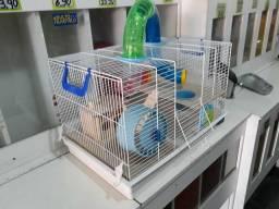 Gaiola p/ hamster tubular