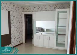 Apartamento 03 quartos no Centro - Mobiliado