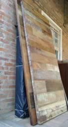 Porta Pivotante Madeira de Demolição 210 x 90