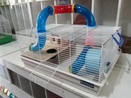 Gaiola p/ hamster Bragança tubular