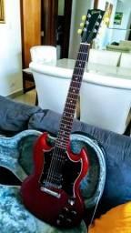 Gibson SG U.S.A 2011 Worn Red