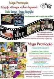 Mega promoção ensaios fotográficos, foto e filmagem c/banner gratis. whats 21 998631215