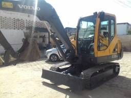 Mini Escavadeira Retro Volvo Cat Ec55b hiundai R80 580n 580m 2015