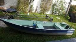 Barco de alumínio 4.2 mts