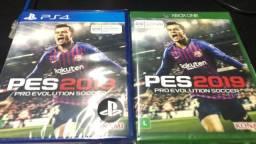 PES-2019 p Ps4 e Xbox One novo lacrado somos loja física