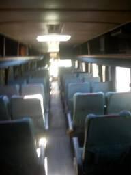 Poltronas de ônibus rodoviários