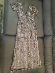 Vendo lindo vestido de festa - Rose gold
