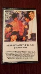 Fita K7 New kids on the block - Step by Step