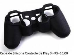 Capa de silicone para controle de play 3