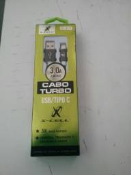 Cabo usb tipo C
