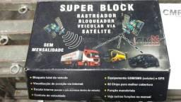 Rastreador veicular via satélite