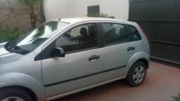 Fiesta hatch 2007/08 1.0 cc 4 portas cor prata 2º dono - 2008