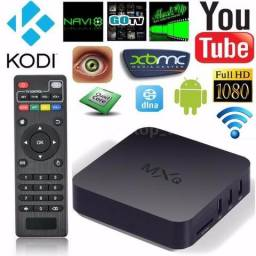 Tv box Mxq Pró 4K 3 gb ram + 16 gb Interno transforma sua tv em smart