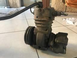 Compressor Ar Caminhao Mbb -motor Om 366 -8160001-0 Completo