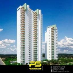 Título do anúncio: Apartamento com 3 dormitórios à venda, 135 m² por R$ 951.307 - Altiplano Cabo Branco - Joã