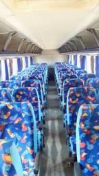 Bancada de ônibus marcopolo