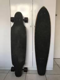 Longboard com dois shapes