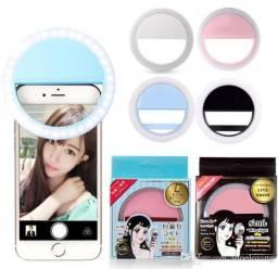 Luz de Led Iluminação para Selfie em Celular - Selfie Ring Light